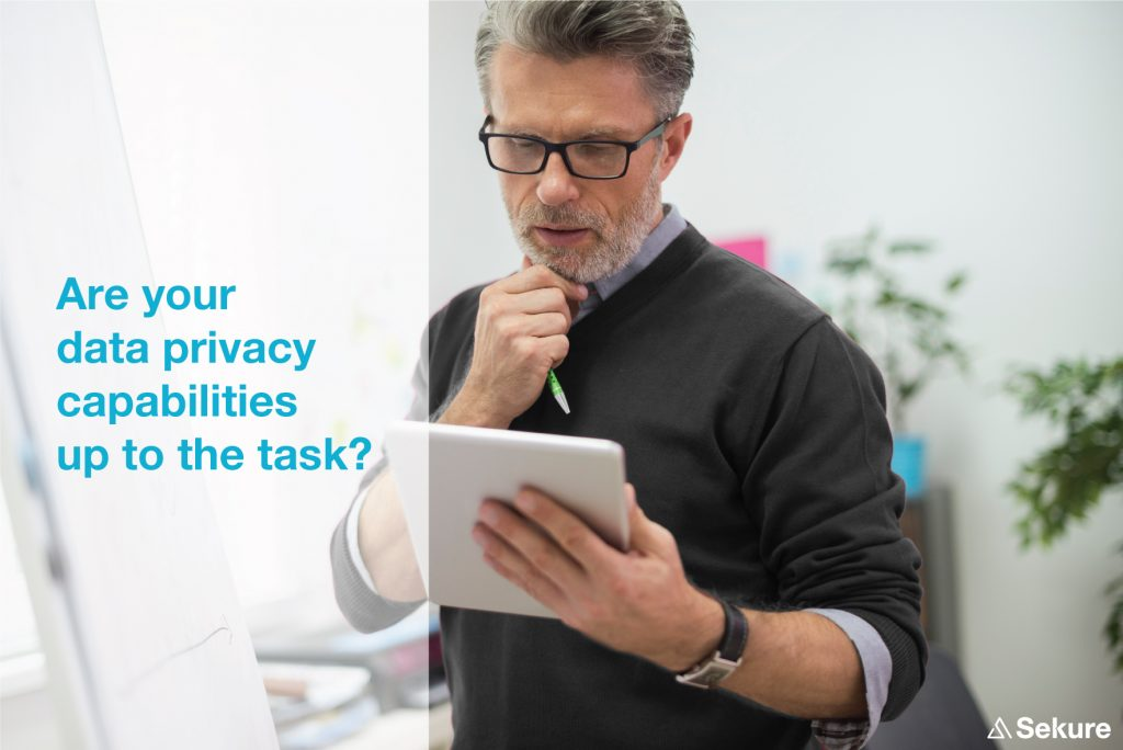 Are your Data privacy capabilities up to the task?